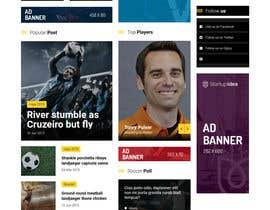 #3 для Buil auto news sports website від saklan