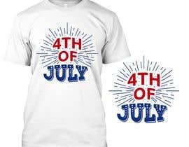 soikot08님에 의한 Need a printable vector t-shirt design for 4th of July holiday을(를) 위한 #84