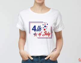 shantaaktar971님에 의한 Need a printable vector t-shirt design for 4th of July holiday을(를) 위한 #13