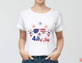 shantaaktar971님에 의한 Need a printable vector t-shirt design for 4th of July holiday을(를) 위한 #29