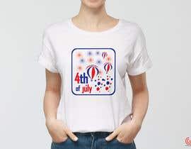 shantaaktar971님에 의한 Need a printable vector t-shirt design for 4th of July holiday을(를) 위한 #85