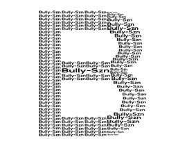 "#11 , I need a design created for a streetwear clothing brand . Attached an example of design I would like for you to recreate with creativity . I want a ""B"" meaning ""Bully Szn"" multiple times as outline shape of the letter B . 来自 swapnilislam14"