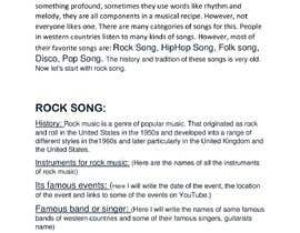 #1 для Write a short paragraph about music(songs) genres in the western countries (especially USA) від TawheedHassan
