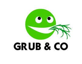 "CarolusJet tarafından Design a Logo and packaging sleeve for ""GRUB & CO"" için no 47"