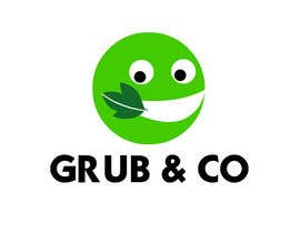 "CarolusJet tarafından Design a Logo and packaging sleeve for ""GRUB & CO"" için no 48"