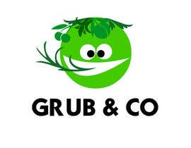 "CarolusJet tarafından Design a Logo and packaging sleeve for ""GRUB & CO"" için no 49"