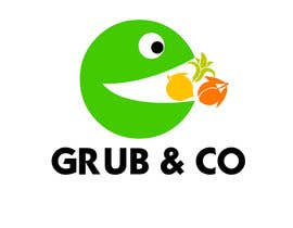 "CarolusJet tarafından Design a Logo and packaging sleeve for ""GRUB & CO"" için no 50"