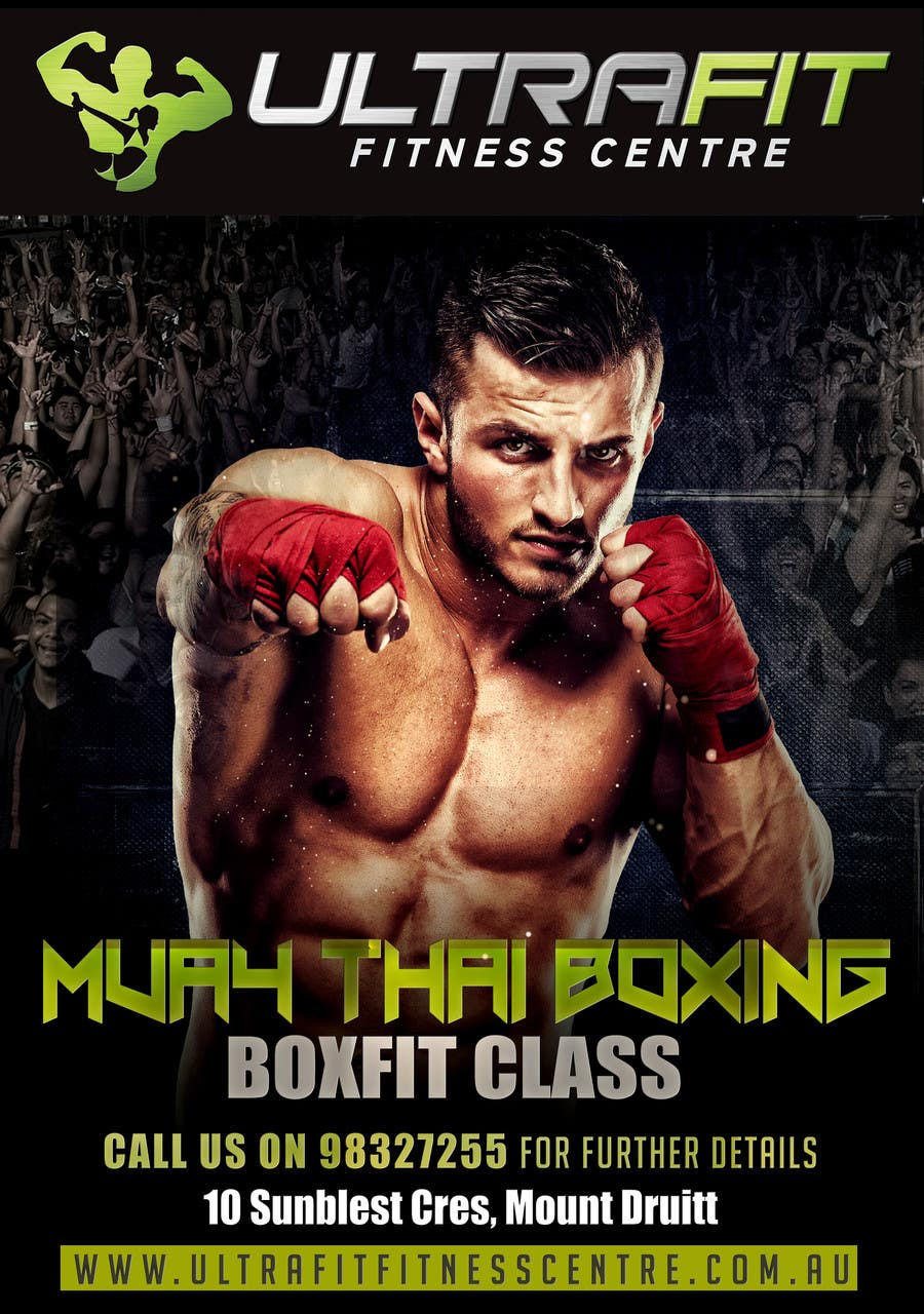 Contest Entry #23 for Design a Flyer for Boxing