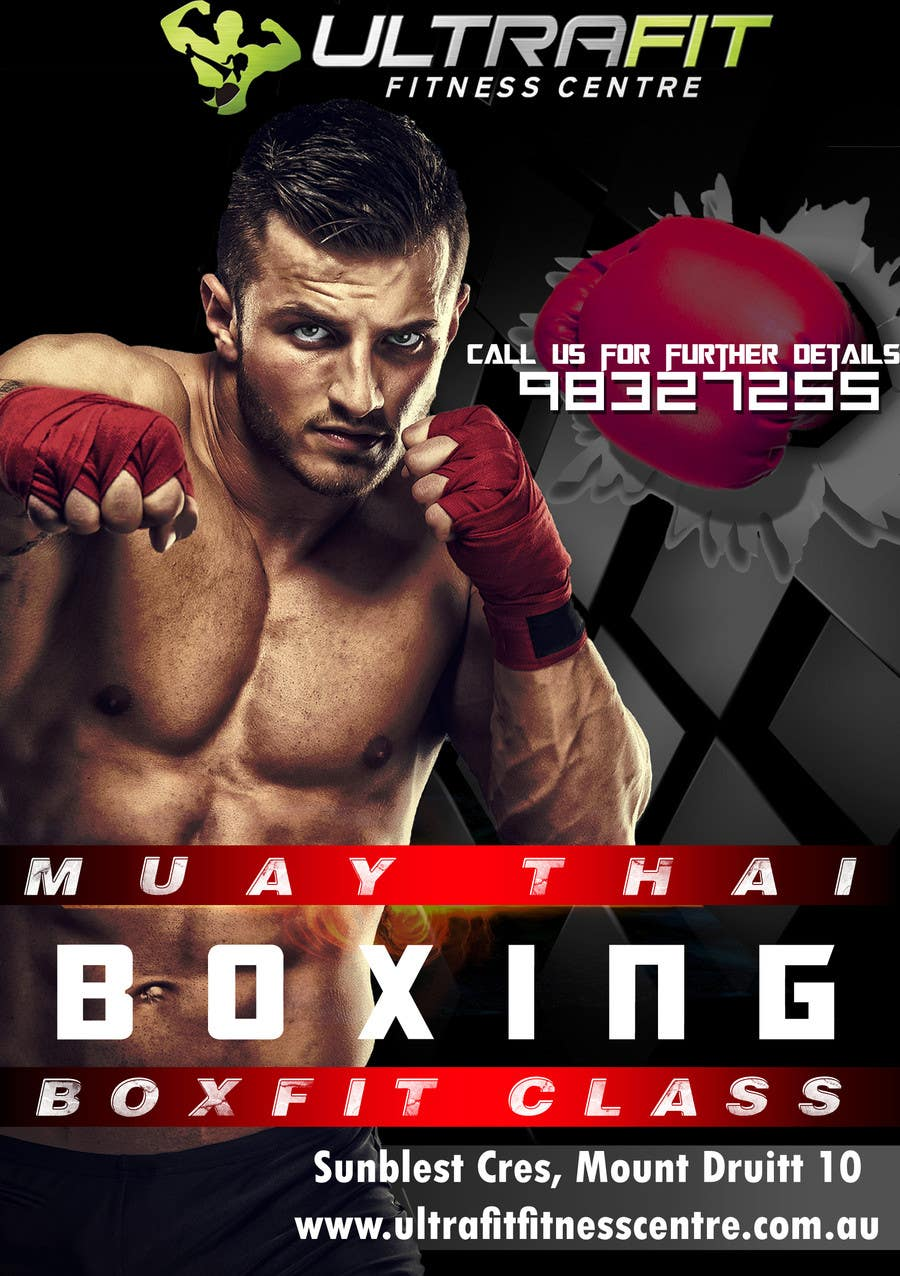 Contest Entry #15 for Design a Flyer for Boxing