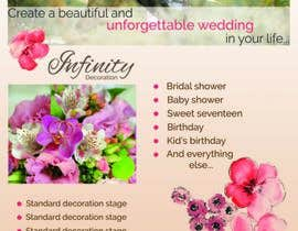 #24 untuk Design a Flyer for Wedding and Party consultants oleh VeraBuzadji