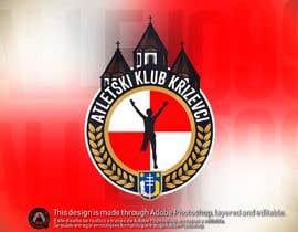 #28 für Track and field club modern logo design von allejq99