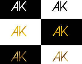 #109 , I need a simple and elegant looking logo that consists only of my initials 来自 RIakash