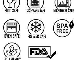 #3 for Create 8 food safe symbols for packaging by rounitrakesh365