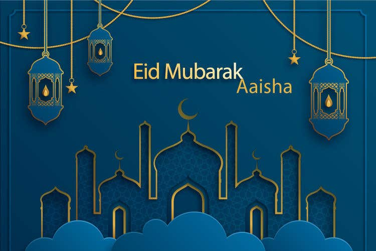 Contest Entry #                                        10                                      for                                         Eid Logo Design/message