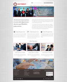 #10 cho Design a Website for Actegy Consulting bởi logodesire