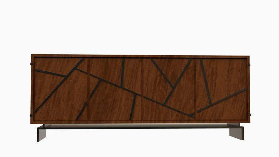 Contest Entry #                                        25                                      for                                         3D project for dining table and cabinet TV | Loft Furniture render