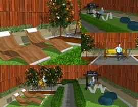 #10 for internal design for a courtyard by JoRed03