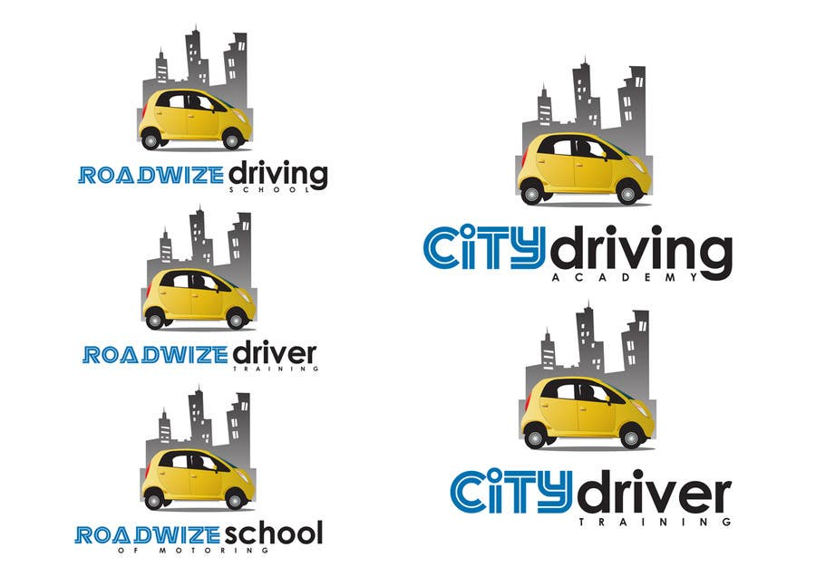 Kilpailutyö #                                        13                                      kilpailussa                                         Logo Design for Driving School in UK