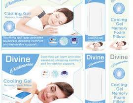 Nro 44 kilpailuun Packaging Concept – New Pillow Product (wireframe template provided) käyttäjältä Globalportbd