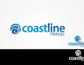 nº 332 pour Logo Design for Coastline Travel par Mehran53