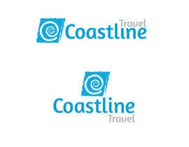 #180 para Logo Design for Coastline Travel por holecreative