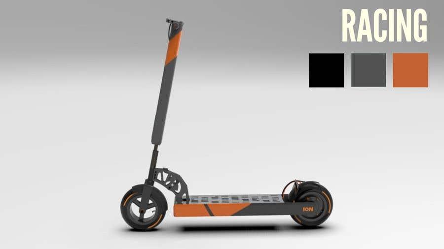 Конкурсная заявка №                                        59                                      для                                         Branding E-Scooter