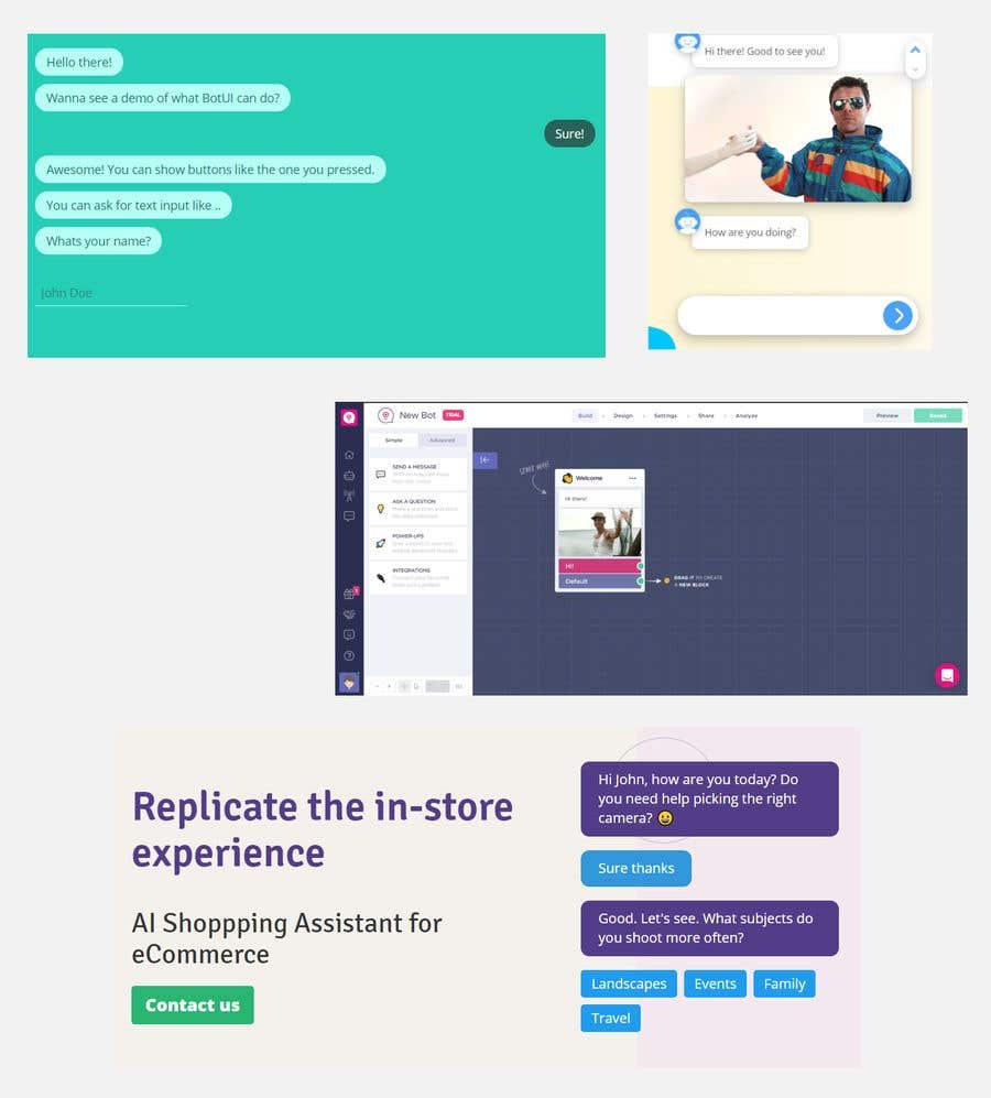 Kilpailutyö #                                        1                                      kilpailussa                                         Chatbot Design