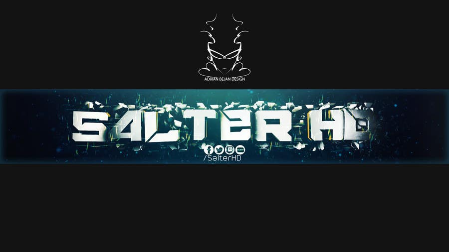 Contest Entry #11 for Need social media banner for YouTube / Twitter / Twitch / Google+