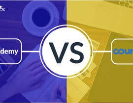 #28 for Banner Design for Blog Page (Udemy vs Coursera) - CourseDuck.com by Rafi567