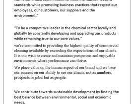 Nro 10 kilpailuun Setup a company mission statement & philosophy käyttäjältä Polash757