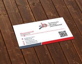 Nro 10 kilpailuun Edit colors and names of a Business Cards in Adobe Illustrator käyttäjältä flechero