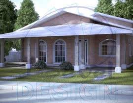 Nro 32 kilpailuun Exterior simple house 3D design (03 views) käyttäjältä PJer1791