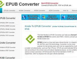 Nro 12 kilpailuun - urgent plz - Kindle ebook in EPUB format (change Orientation and theme Color) käyttäjältä skrratul31