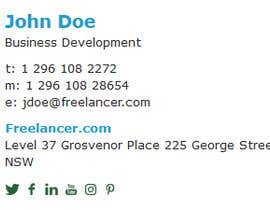 #82 for Create an Email Signature for Freelancer.com by kolposl