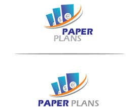 """#11 for I need a skilled graphic designer to take this already made logo and improve it and add unique designs and improvements to it to make it stand out with the top brands. keep it black and white and add unique improvements Brands called """"Paper Plans"""". by gpnatraj"""