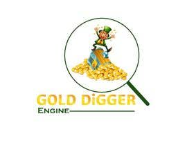 Nro 9 kilpailuun Logo: Gold Digger Engine käyttäjältä shahrukhk0081