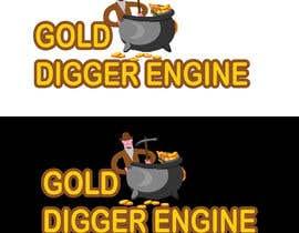 Nro 3 kilpailuun Logo: Gold Digger Engine käyttäjältä samsuddinsobujmd