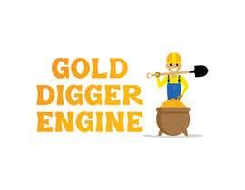 Nro 21 kilpailuun Logo: Gold Digger Engine käyttäjältä MadeehaAnsari66