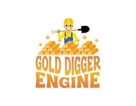 Nro 22 kilpailuun Logo: Gold Digger Engine käyttäjältä MadeehaAnsari66