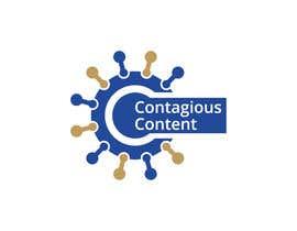 Nro 29 kilpailuun Contagious Content Logo Design käyttäjältä abdulkhalequeme