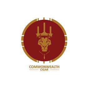 #137 for Design a logo for a CIGAR, 'COMMONWEALTH.' by shanzaedesigns