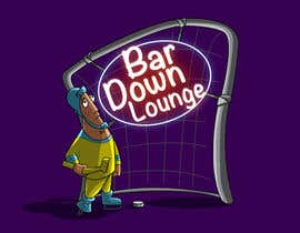 #5 for Illustrate Something for a Bar Down Lounge logo by kunjanpradeep