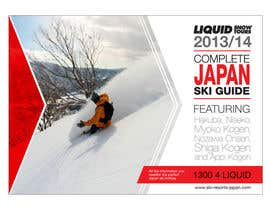 #87 untuk Front cover design for Japan ski brochure oleh MOHR