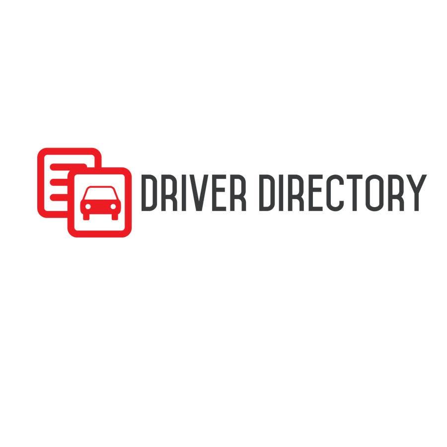 "Proposition n°                                        7                                      du concours                                         Design a Logo for ""Driver Directory"""