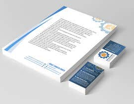#66 for Design Business Card & Electronic Word Document Stationary by RERTHUSI