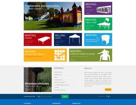 #34 for Design a Website Mockup for www.mbcg.be by suryabeniwal