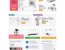 #35 for Design a Website Mockup for www.mbcg.be by davidnalson