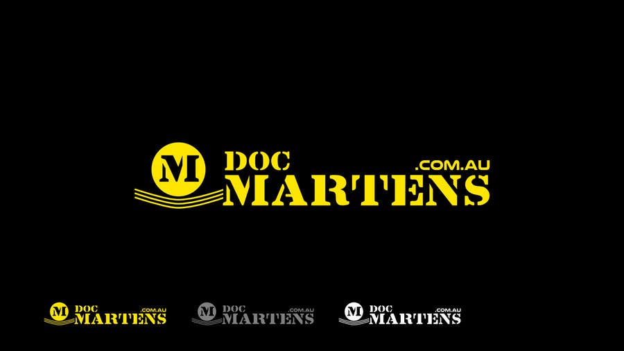 Kilpailutyö #24 kilpailussa Design a Logo for Dr Martens online store
