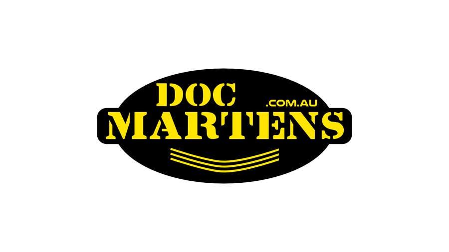 Kilpailutyö #25 kilpailussa Design a Logo for Dr Martens online store