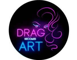 ZeinaMDesign tarafından Drag Becomes Art logo için no 58